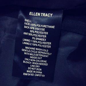 Ellen Tracy Jackets & Coats - Ellen Tracey Black leather jacket